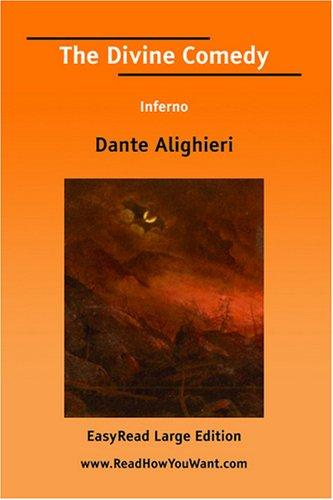 The Divine Comedy Inferno EasyRead Large Edition