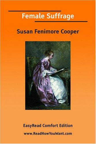 Download Female Suffrage EasyRead Comfort Edition