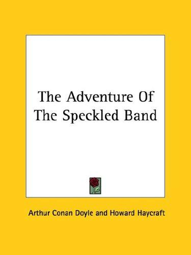 Download The Adventure of the Speckled Band