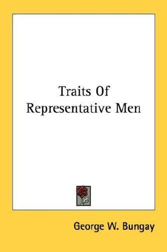 Download Traits Of Representative Men