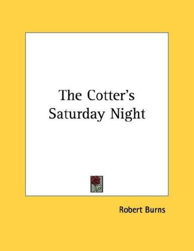 The Cotter's Saturday Night