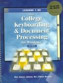 Gregg College Keyboarding and Document Processing for Windows, Book 1 Shrinwrap for MS Word 97