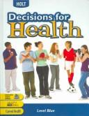 Te Decisions for Health 2004 Blue