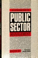 An Introduction to Public Sector Management