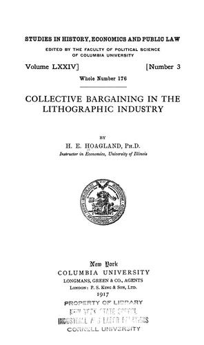 Download …Collective bargaining in the lithographic industry