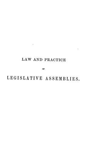 Download Lex parliamentaria Americana.