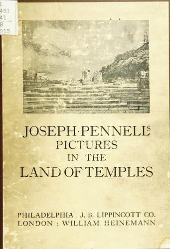 Download Joseph Pennell's pictures in the land of temples