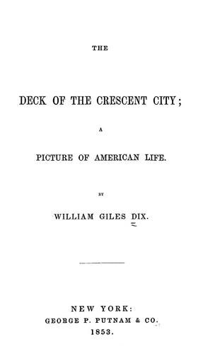 Download The deck of the Crescent City