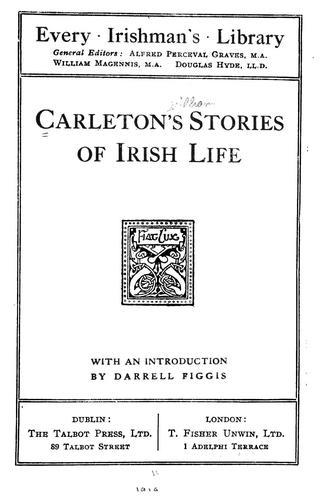 Download Carleton's stories of Irish life