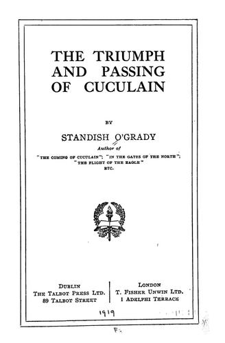 Download The triumph and passing of Cuculain