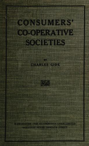 Download Consumers' co-operative societies