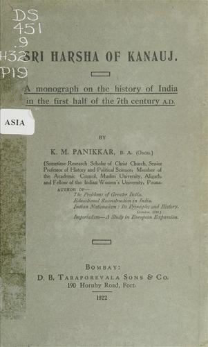 Sri Harsha of Kanauj.