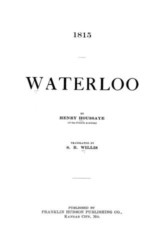 Download 1815, Waterloo