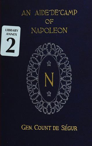 An aide-de-camp of Napoleon.