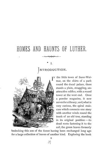 Homes and haunts of Luther.