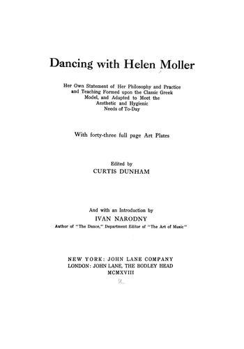 Download Dancing with Helen Moller