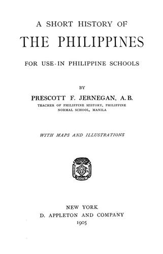Download A short history of the Philippines