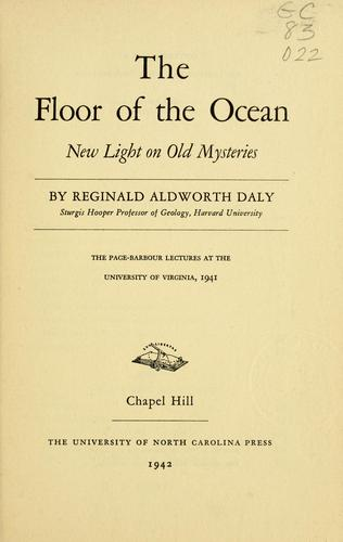 Download The floor of the ocean