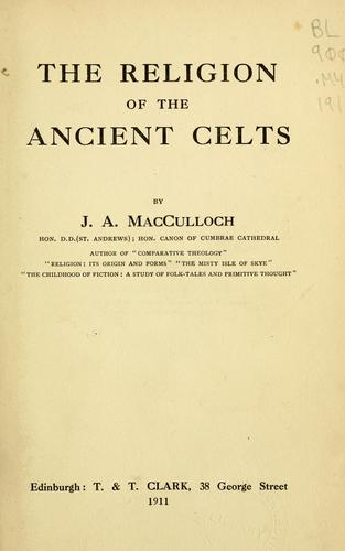 Download The religion of the ancient Celts