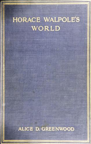 Download Horace Walpole's world