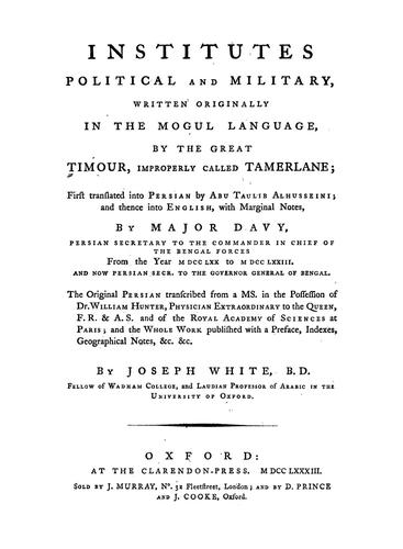 Download Institutes, political and military