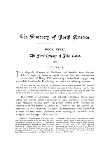 Download The discovery of North America