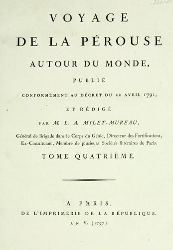 Download Voyage de La Pérouse autour du Monde