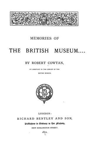 Download Memories of the British Museum.