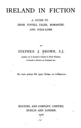 Ireland in fiction