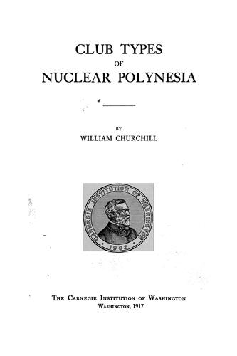 Club types of nuclear Polynesia
