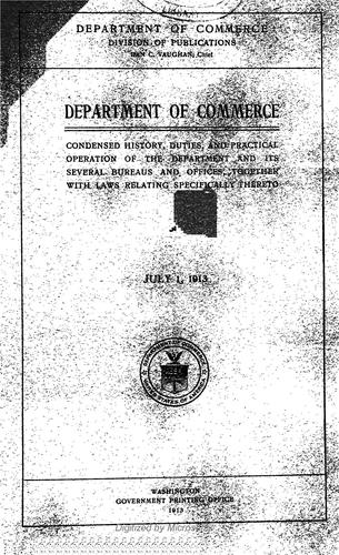 Download Department of commerce