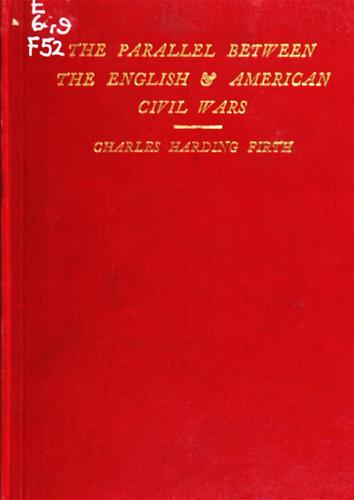 Download The parallel between the English and American civil wars.