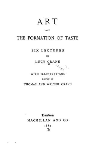 Download Art and the formation of taste