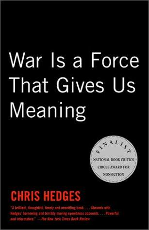 Download War Is a Force that Gives Us Meaning