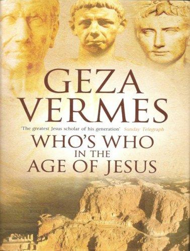 Download Who's Who in the Age of Jesus