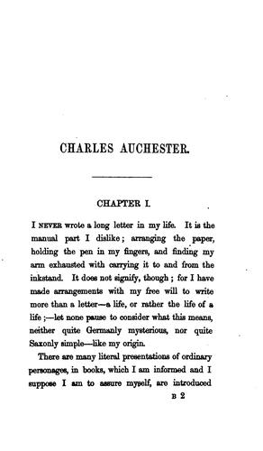 Charles Auchester by E.S. Sheppard.