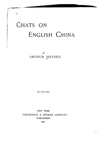 Chats on English China