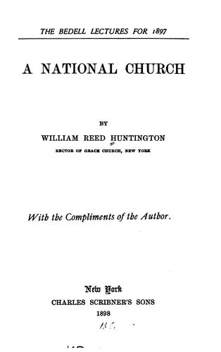 Download A National Church
