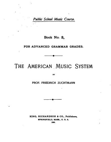 The American Music System