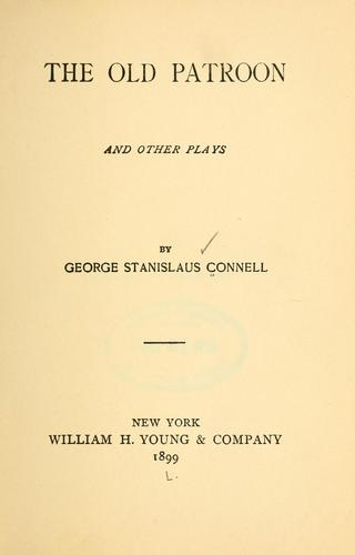 The old patroon and other plays