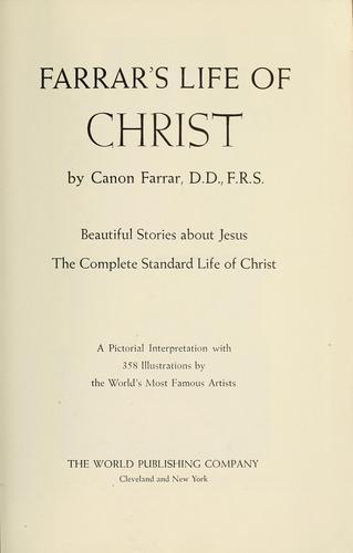 Farrar's life of Christ