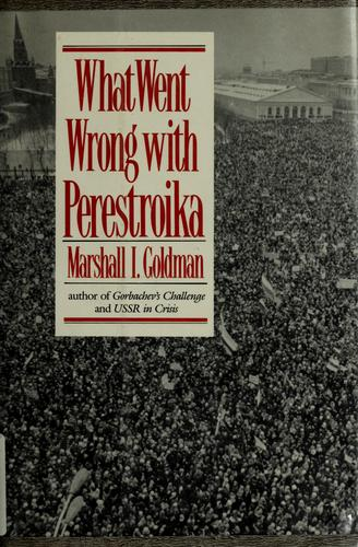 Download What went wrong with Perestroika