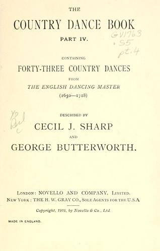 Download The country dance book …