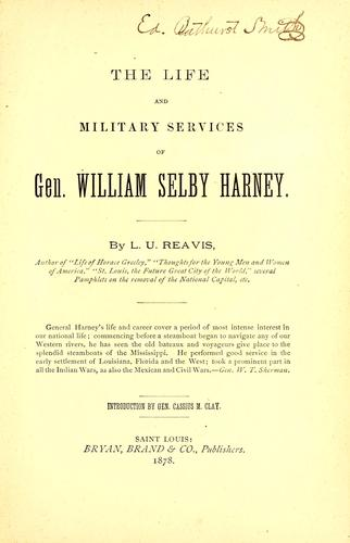 Download The life and military services of Gen. William Selby Harney.