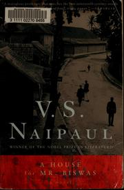 A House for Mr. Biswas [Paperback] by Naipaul, V.S.