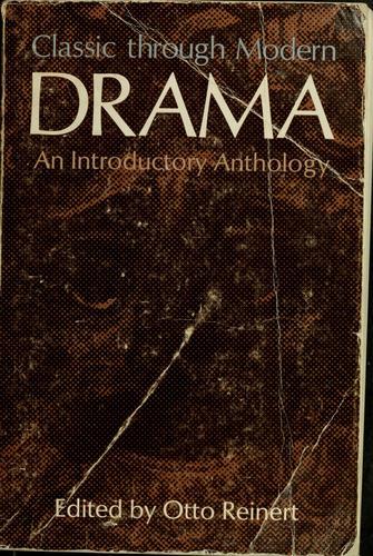 Download Classic through modern drama