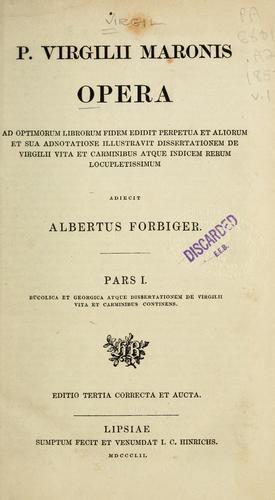 Download P. Virgilii Maronis Opera