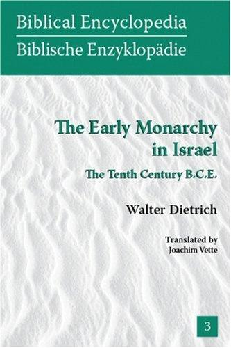 Download The Early Monarchy in Israel