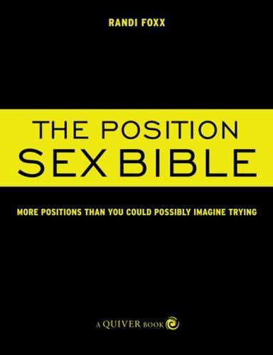 Position Sex Bible by Randi Foxx