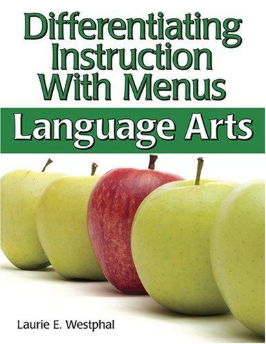 Download Differentiating Instruction With Menus